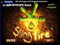 Sling Fire Title Screen