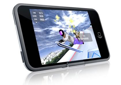 iPhone Games: Crazy Snowboard!